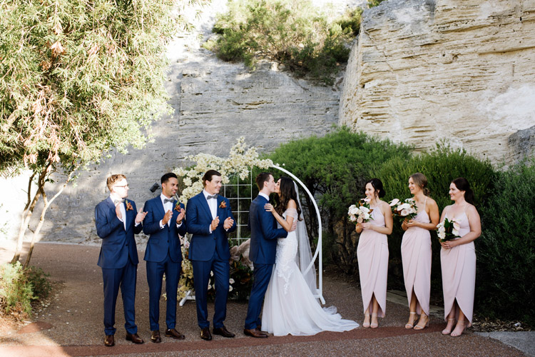 The Quarry Amphitheatre Wedding